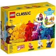 LEGO Classic - Blocos Transparentes Criativos - 500 Peças - 11013
