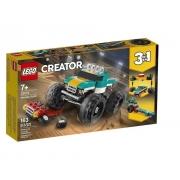Lego Creator - 3 Em 1 Caminhão Monster Truck 163 Peças 31101