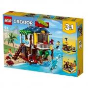 LEGO Creator Casa da Praia de Surfista 564 Peças 31118