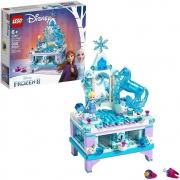 Lego Disney Frozen A Criação Porta Jóias Elsa 300pçs - 41168