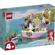 LEGO Disney - O Barco de Cerimônia de Ariel - 114 Peças - 43191