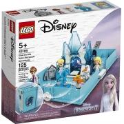 LEGO Disney Princess - O Livro de Aventuras de Elsa e Nokk 125 Peças - 43198