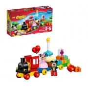 LEGO Duplo - Trem de Aniversário Mickey e Minnie 10941