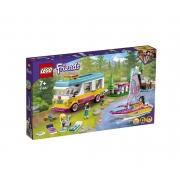 Lego Friends - Trailer e Barco a Vela Na Floresta 41681