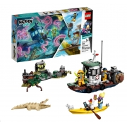 Lego Hidden Side Barco de Pesca de Camarão Naufragado
