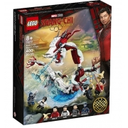 LEGO Marvel Batalha na Vila Antiga 400 Peças - 76177