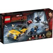 LEGO Marvel Fuga dos Dez Anéis 321 Peças - 76176