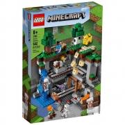 LEGO Minecraft A Primeira Aventura 542 Peças - 21169