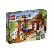 Lego Minecraft O Posto Comercial 201 Peças - LEGO 21167