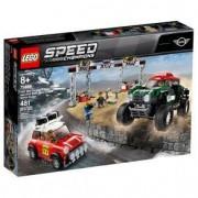 Lego Speed Champions Mini Cooper Rally e John Cooper