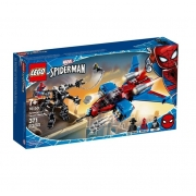 LEGO Super Heroes - Disney - Marvel - Homem Aranha - Spiderjet vs Robô Venom - 76150