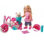 Little Mommy Boneca Meu Primeiro Passeio Loira - Mattel