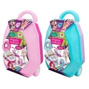 Maleta e Kit de Bijuterias Mania de Biju 2 em 1 - DM Toys