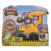Massa De Modelar Play-Doh Wheels Escavadeira - Hasbro E9226