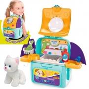 Mochila Pet Shop Care 2 em 1 Adotados acessórios F00581