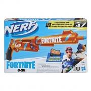 Nerf - Lançador Fortnite 6-Sh F2684 - Hasbro 2684