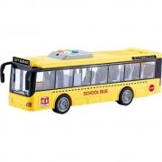 Ônibus Escolar de Fricção 1:16 com Luz e Som - Shiny Toys