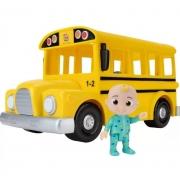 Ônibus Escolar Musical Cocomelon com Som - Candide
