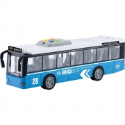 Ônibus Urbano de Fricção 1:16 com Luz e Som - Shiny Toys