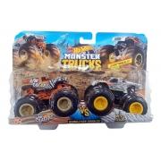 Pack com 2 Carrinhos Monster Truck Surpresa