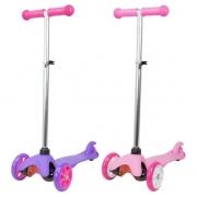 Patinete Infantil Radical 3 Rodas Feminino - BBR Toys