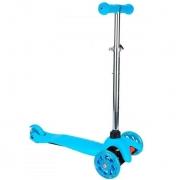 Patinete Spin 3 Rodas com Luzes - Azul - CKS Brinquedos