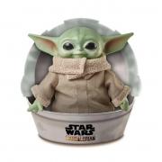 Pelúcia Básica Star Wars Baby Yoda 28cm Disney - MattelGWD85