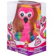 Pelúcia Flamingo Alive Frankie The Funky - Candide