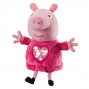 Peppa Pig Pelúcia com Mecanismo Hora de Dormir - Sunny