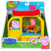 Peppa Pig Playset Van Para Acampar - Sunny 2324
