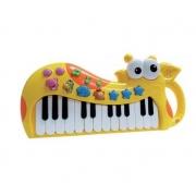 Piano/Teclado divertido girafinha - DM Toys