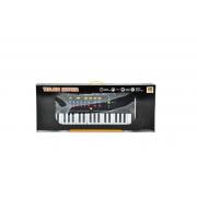 Piano Teclado Infantil Microfone Cantar Brinquedo Musical - DM Toys