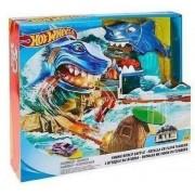 Pista Hot Wheels Ataque do Tubarão - Mattel