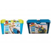 Pista Hot Wheels Track Builder Caixa De Velocidade Mattel