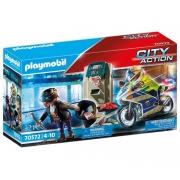 Playmobil Caixa Eletronico Com Policial E Fugitivo - Sunny