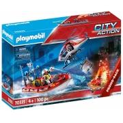 Playmobil Missão de Resgate Bombeiros - Sunny