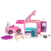 Playset Barbie Trailer dos Sonhos 3 em 1 - Mattel