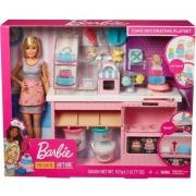 Playset e Boneca Barbie Barbie Chef de Bolinhos - Mattel