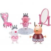 Playset e Mini Figura Cenário Ballet da Peppa Pig - Sunny