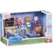 Playset e Mini Figura - Peppa Pig - Escolinha da Peppa - Sunny