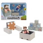 Playset Minecraft Minecart Mayhem - Mattel
