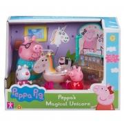 Playset Temático Peppa Pig - Unicórnio - Sunny