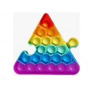 Pop Fun - Pura Diversão - Triângulo de Encaixar - Arco-íris - Yes Toys
