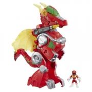 Power Rangers Zord Dragao Vermelho Eletronico - Hasbro
