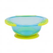 Pratinho Infantil Bowl Com Ventosa Azul - Buba 5807