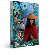 Quebra-Cabeça - 100 Peças - Disney - Raya e o Último Dragão - Toyster 2862