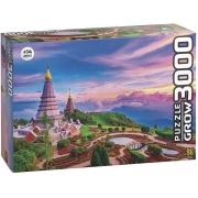 Quebra Cabeça 3000 Peças Tailândia - Grow