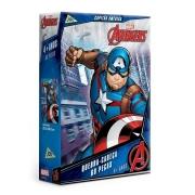 Quebra-cabeça 60 Peças Vingadores Capitão América - Toyster