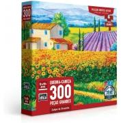 Quebra Cabeça Campo de Girassóis 300 Peças - Toyster2760