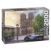 Quebra-Cabeça Catedral de Notre-Dame Paris 2000pçs - Grow